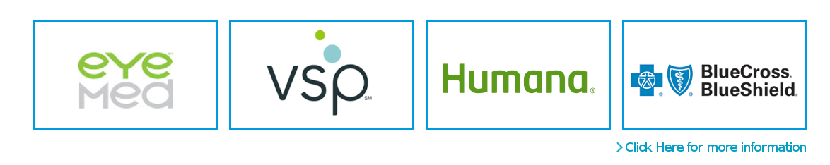 Insurance EyeMed VSP Humana Blue Cross