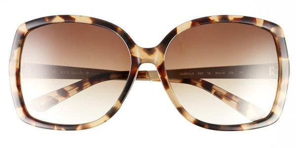 Kate Spade Darryl 59mm Sunglasses