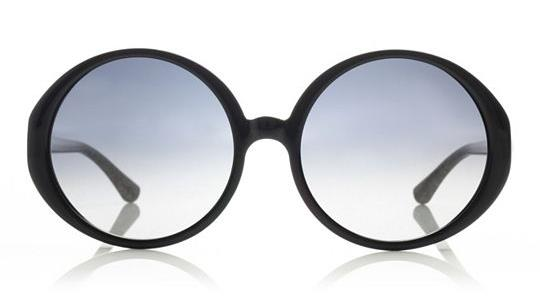 Tory Burch Oversized Print Sunglasses